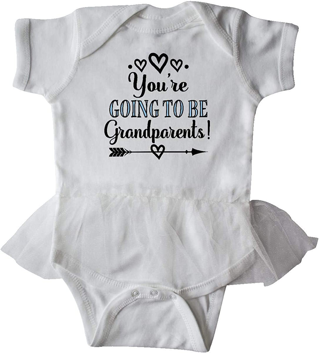 inktastic Going to Be Grandparents Announcement Gift Infant Tutu Bodysuit