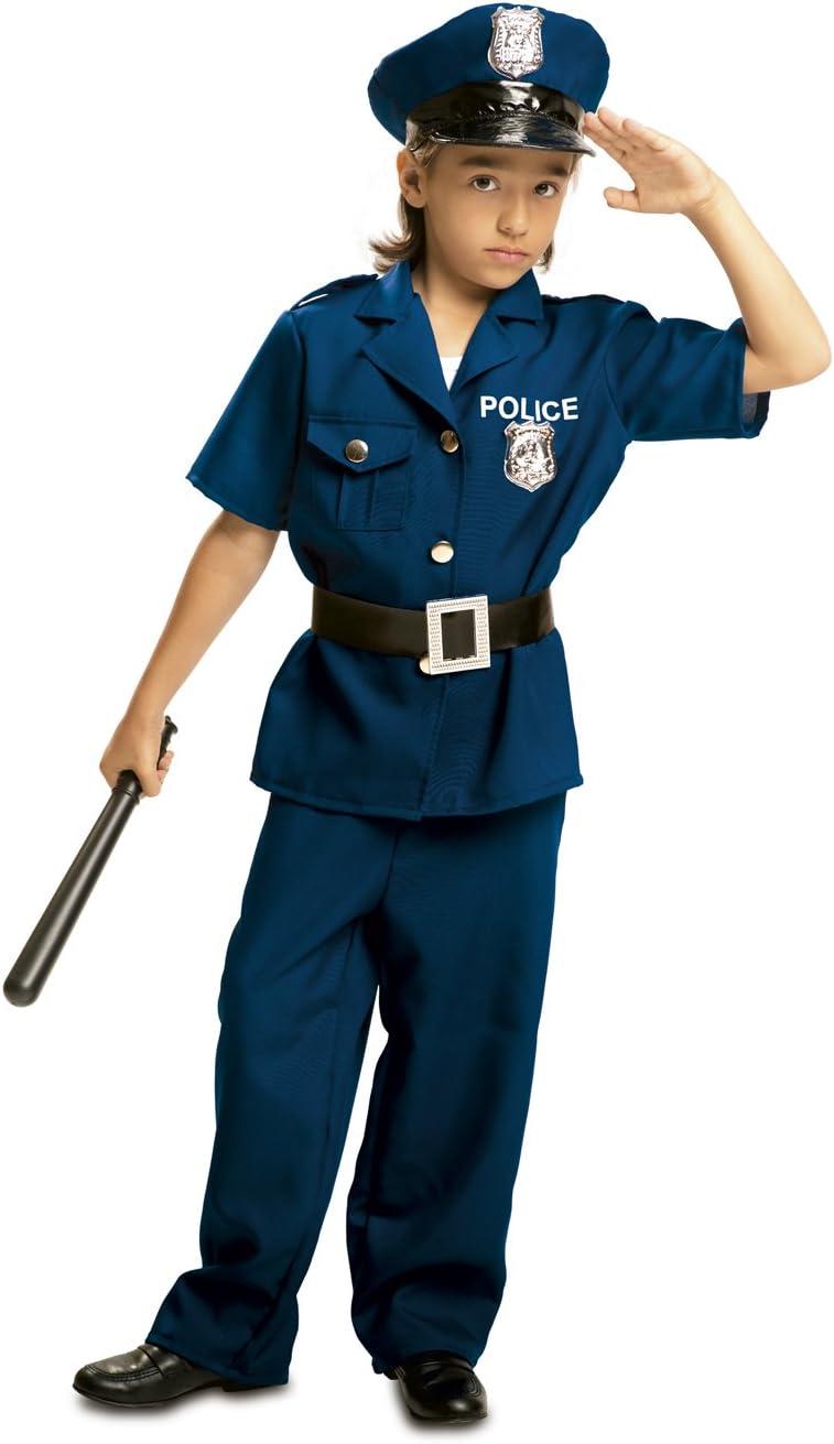 My Other Me - Disfraz de Policía para niño, Talla 3-4 años (Viving ...