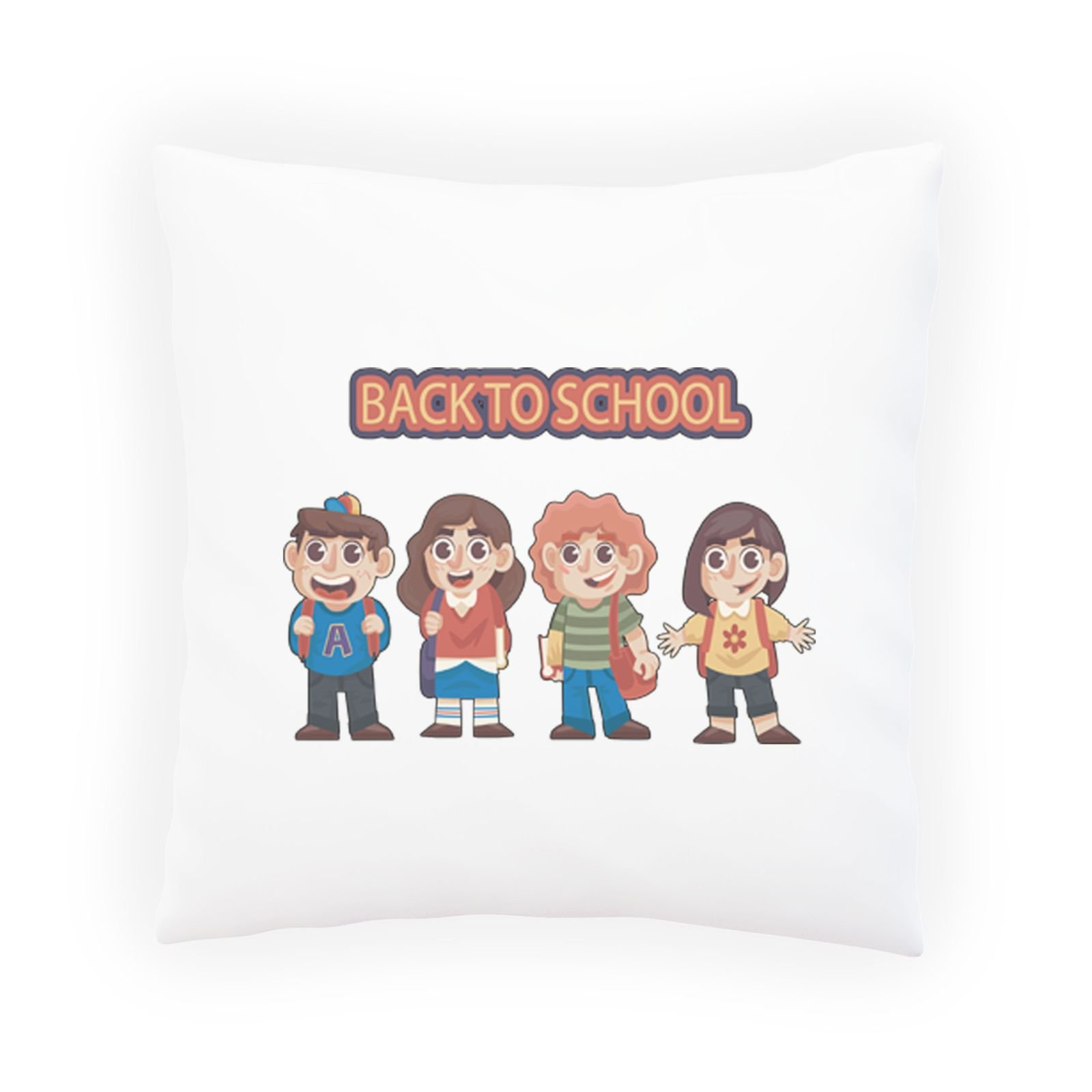 Back To School Art Decorative Pillow , Cushion cover with Insert or Without p981p