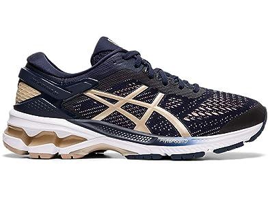 ASICS Women's Gel Kayano 26 Running Shoe (Violet BlushDive Blue, Size 10 US) | scarpa |