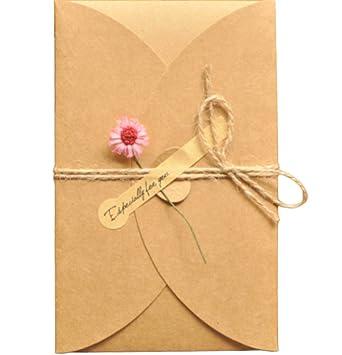 Biglietti Matrimonio Auguri Da Stampare : Monbedos pezzi biglietti d auguri fatti a mano retro kraft