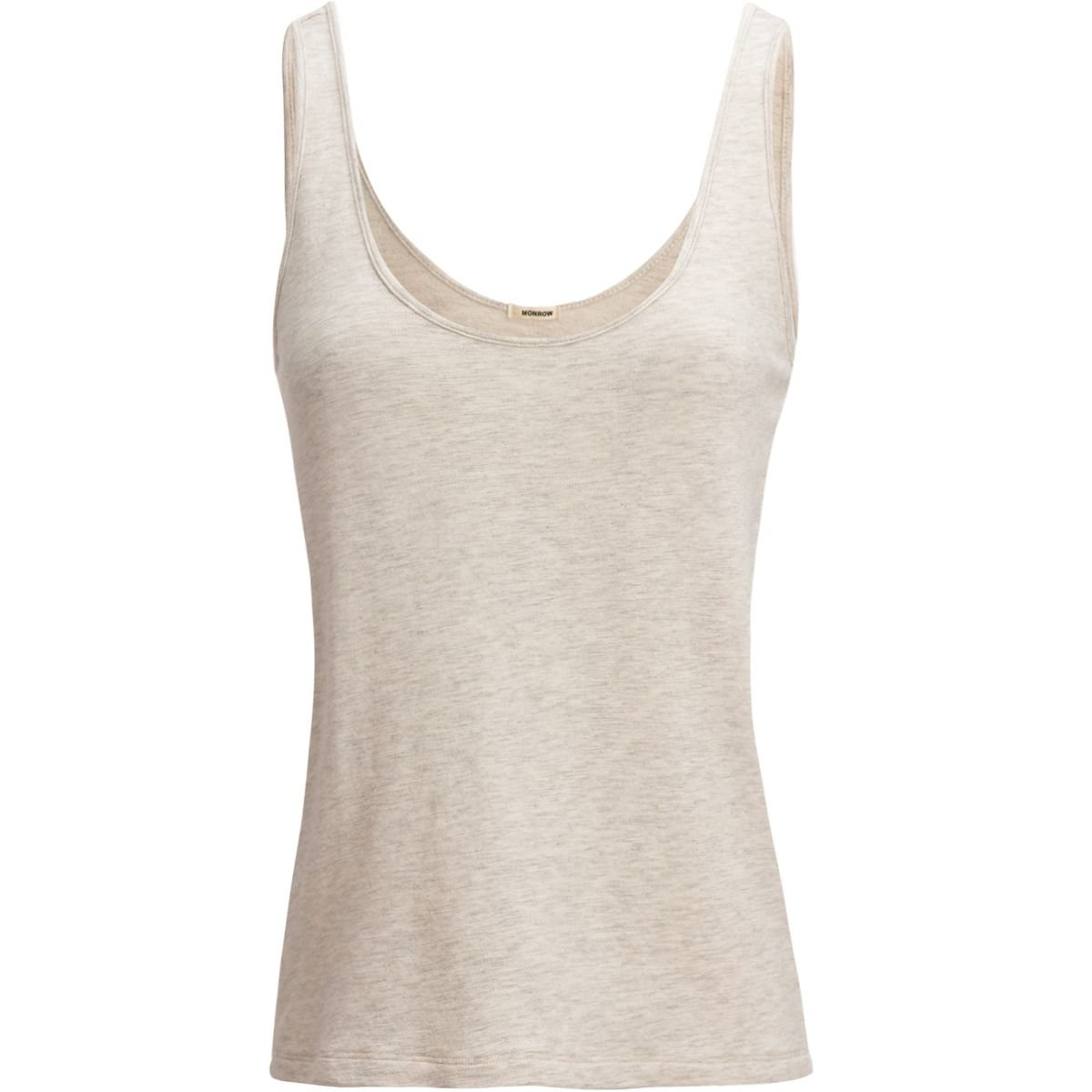 Monrow Supersoft Loose Tank Top - Women's Ash, S