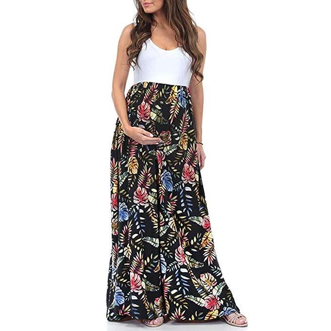 Vestido largo premama barato