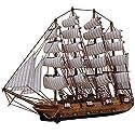 JQ trend手作り 木製帆船模型 confection 装飾品 収蔵品 おもちゃ 50cm (50cm)