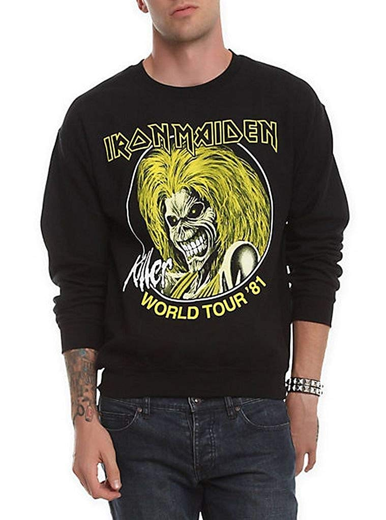 Llwflpb Iron Maiden Killer World Tour 81 Shirts