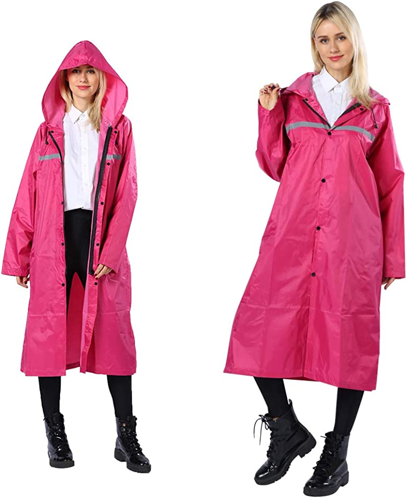 Pahajim Fashion Durable Erwachsener Regenjacke Mit Kapuze Wasserdicht Windbreaker Wetterfest Bergsteigeranzug /Übergangsjacke Regenmantel