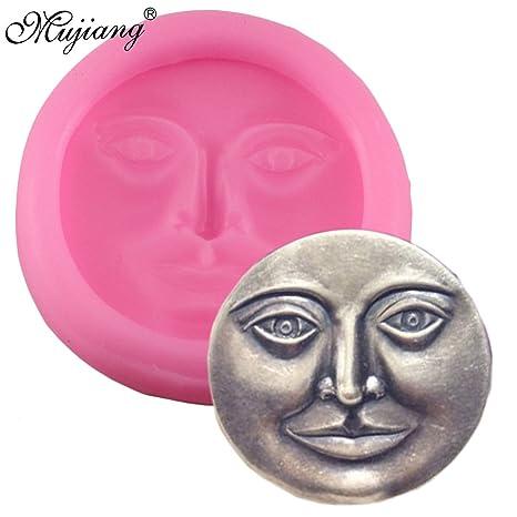 Star Trade Inc – Molde de silicona para decoración de tartas, diseño de cara de