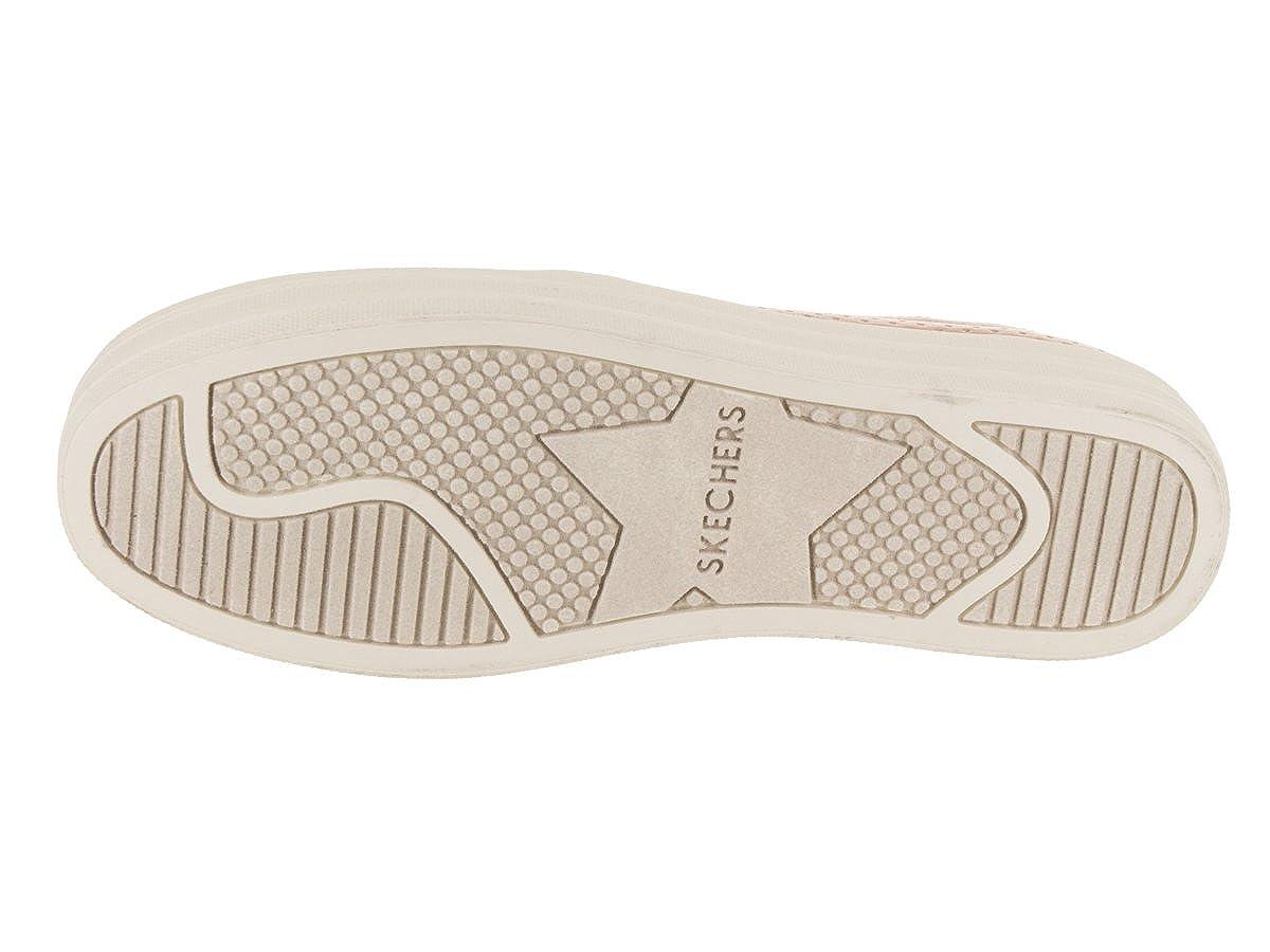 f0e6c9c51bc3 Skechers Women s Double Up - Metallic Breeze Slip-On Shoe Silver   Amazon.co.uk  Shoes   Bags