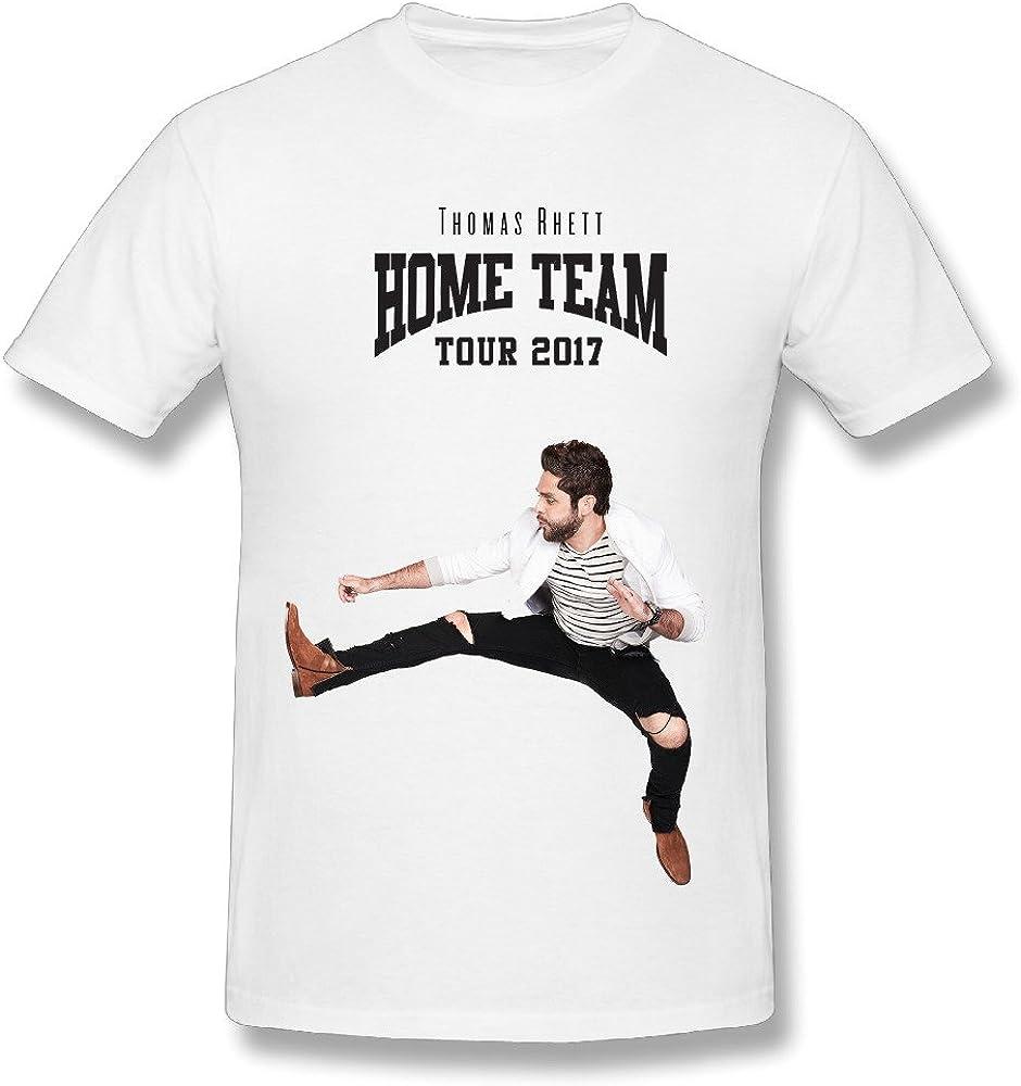 JRTH Hot Sale Thomas Rhett Home Team Tour 2017 Poster T Shirt for Men