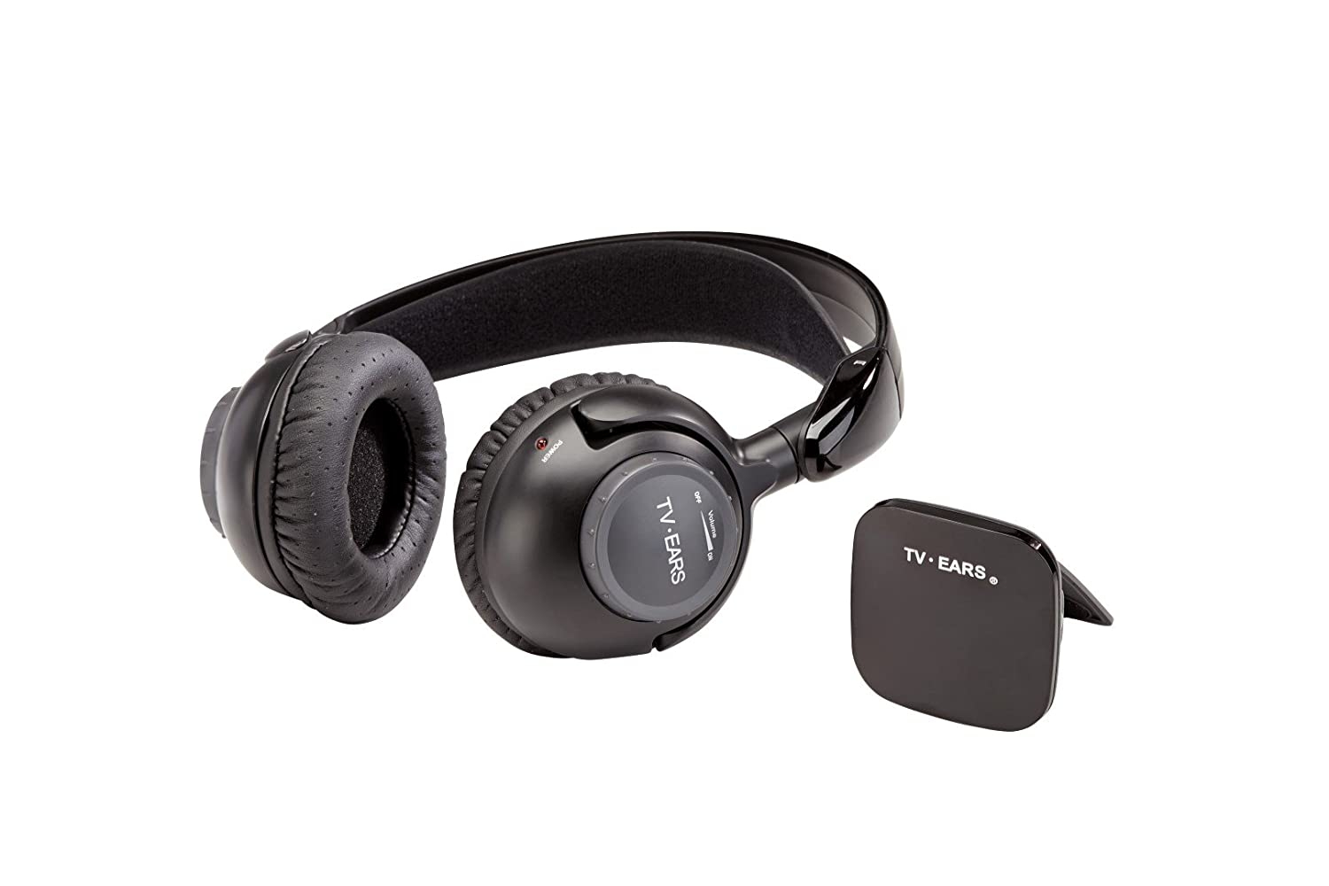 Tv Ears Wireless Headphone System Usb Powered Loudness Controller Circuit Making Easy Circuits Transmitter Large Volume Tone Dials Hearing Aid Device Listening Headphones For
