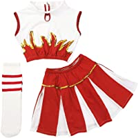iiniim 3Pcs Disfraces de Animadora Fútibol Tenis Baloncesto