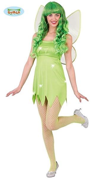 Sexy Grune Fee Kostum Fur Damen Karneval Fasching Marchen Grun