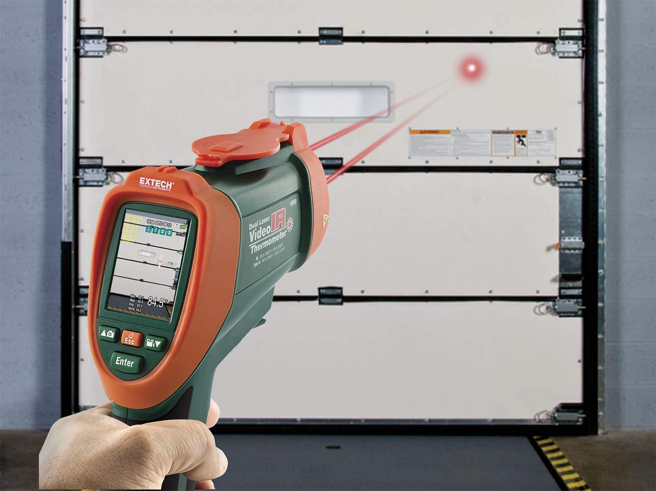 Extech VIR50 Termómetro con vídeo de IR: Amazon.es: Industria, empresas y ciencia