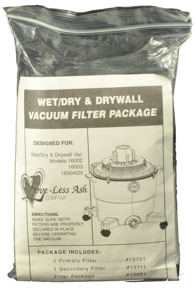 Loveless Ash Vacuum Cleaner Filter