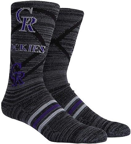 Colorado Rockies Socks Funny Birthday Gifts Baseball Game