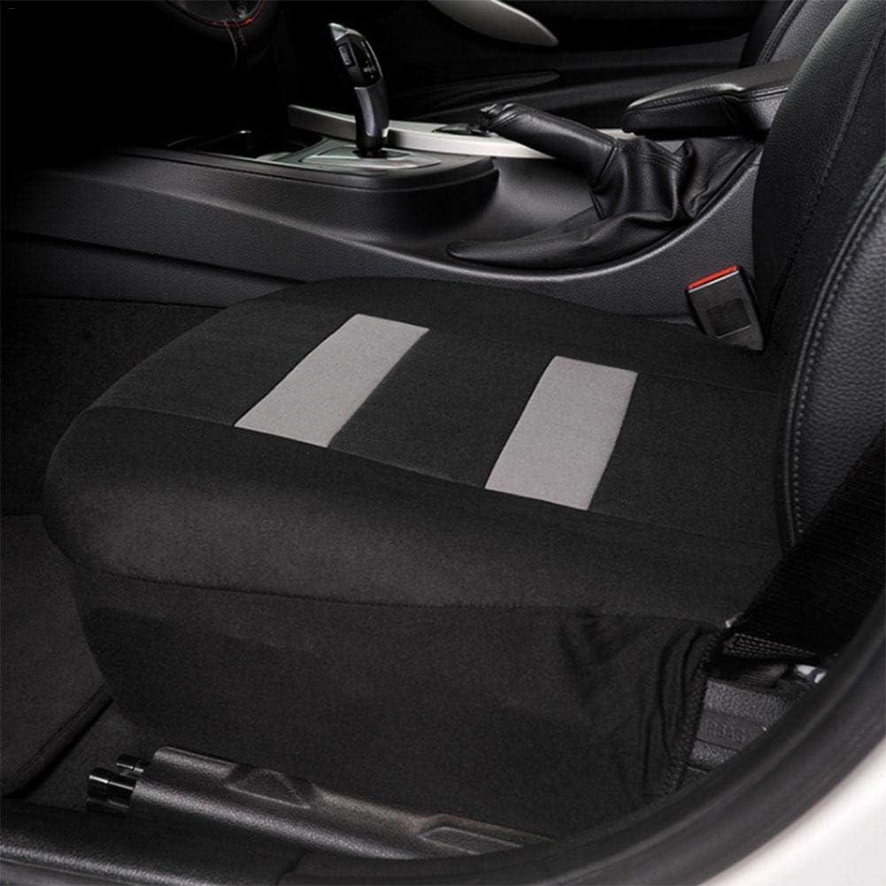 Ranget 2pcs Universal Autositzbez/üge Mesh Schwamm vorne Autositzbezug T-Shirt Design Sitzbez/üge Set mit 2pcs Kopfst/ützenbez/ügen f/ür Auto LKW Van