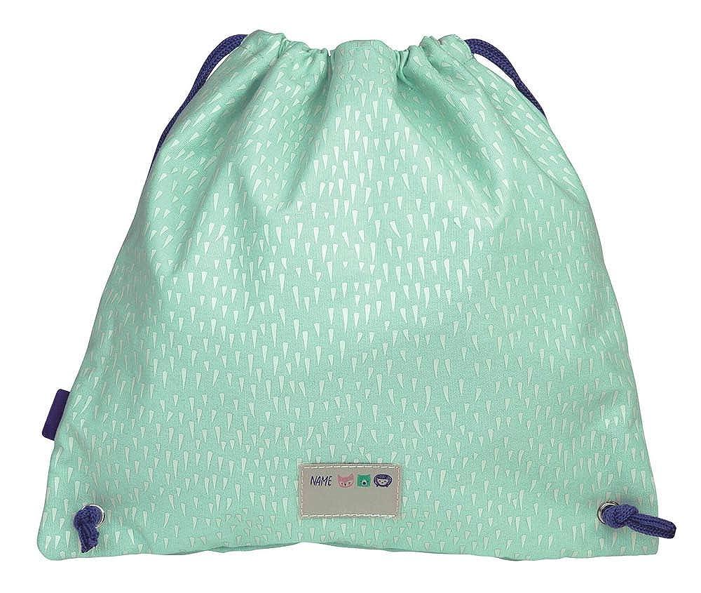 Gymbag saco-mochila Berry wood verde 30x31cm Ni/ños Unisex Mil/án 08412BGR Unica