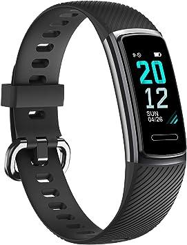 TOOBUR Pulsera de Actividad Inteligente, IP68 Impermeable Reloj ...