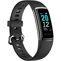 TOOBUR Fitness Tracker, Colour Screen Fitness Watch with Heart Rate Monitor, Pedometer Calories and Sleep Monitor, IP68…