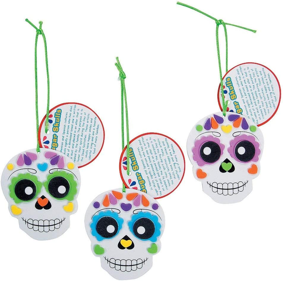 Day of the Dead Crafts and Activities for Kids featured by top Seattle lifestyle blogger, Marcie in Mommyland