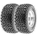 SunF Sport ATV & Golf Cart A/T Tires 23x10.5-12 23x10.5x12 4 PR G003 (Set pair of 2)