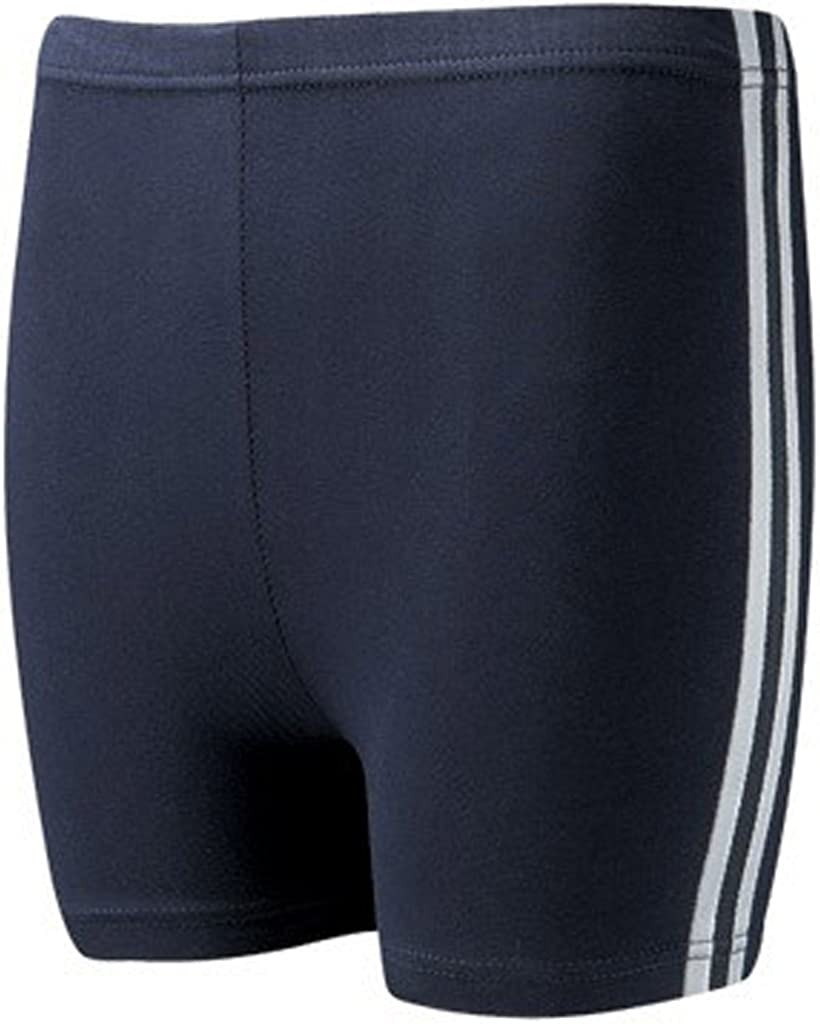 David Luke School Uniform Girls Side Stripe Multi Sports PE Games Stretchy Gym Shorts