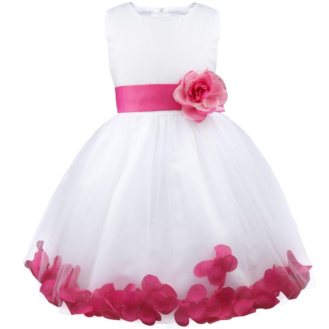 Pink Flower Girl Dresses Amazon