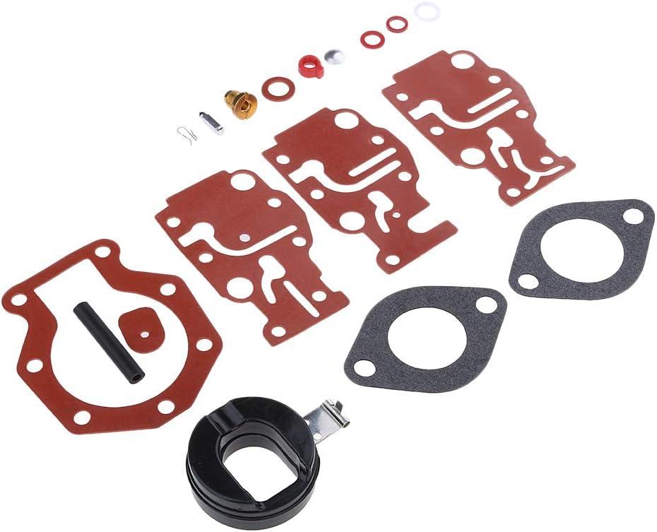 Homyl Kit Riparazione Carburatore 439073 0439073 Per Fuoribordo Johnson//Evinrude