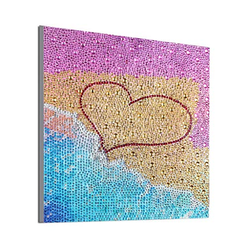 Full Drill Special Shaped Diamond DIY 5D Cross Stitch Kits Crystal Embroidery Arts Craft Size 30X30cm (30X30cm, Multicolor)