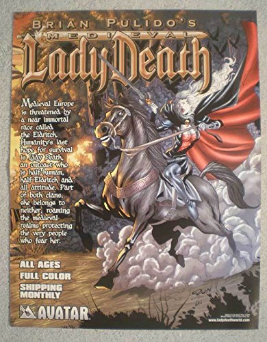 MEDIEVAL LADY DEATH Promo poster, 10