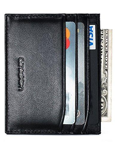 slim-genuine-leather-credit-card-holder-front-pocket-wallet-with-rfid-blocking
