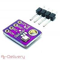 AZDelivery ⭐⭐⭐⭐⭐ GY-BME280 baromet elettrico sensore temperatura umidità pressione atmosferica Modulo per Arduino e Raspberry Pi