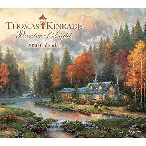 Thomas Kinkade Painter of Light 2020 Deluxe Wall Calendar