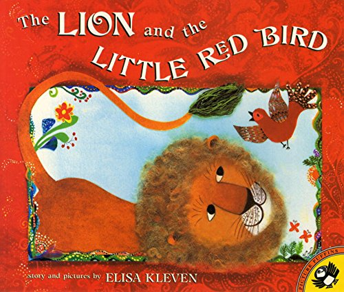 THE LION AND THE LITTLE RED BIRD (PAPERBACK) 1996 PUFFIN (Picture Puffins)
