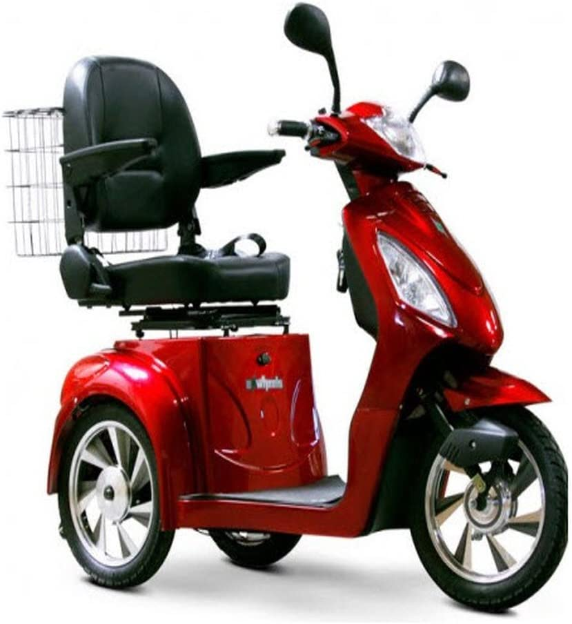 Amazon.com: EW 36 Scooter de Movilidad. Rojo. Hasta 18 mph y ...