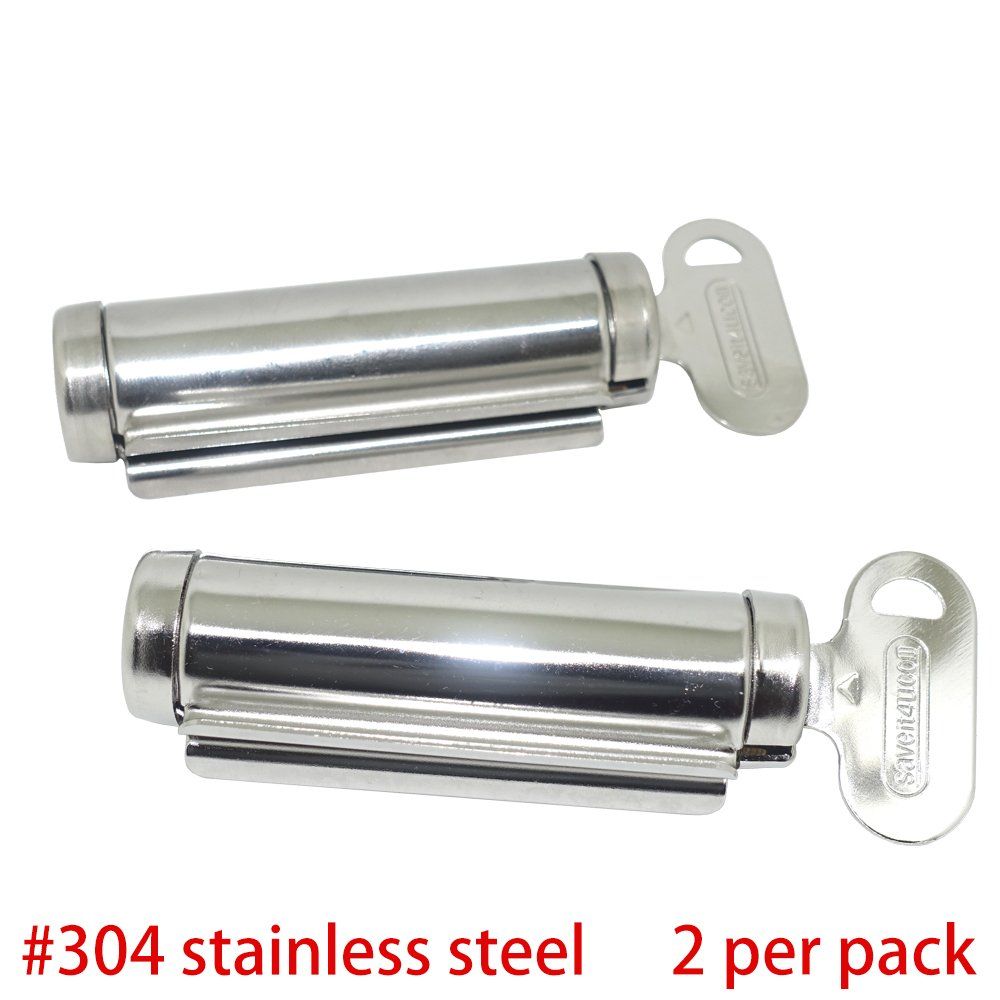 Osun Life Stainless Steel Patented Tube Winder Squeezer (2 per Pack) by Osun Life