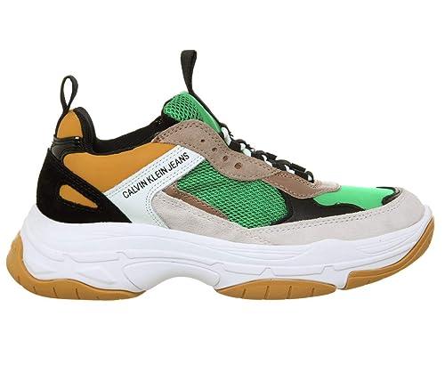 buy popular e1220 c8139 Calvin Klein Jeans Maya Mesh Donna Sneaker: Amazon.it ...