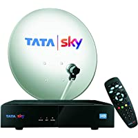 TATASKY HD Connection with 1 Month Basic Pack and Installation