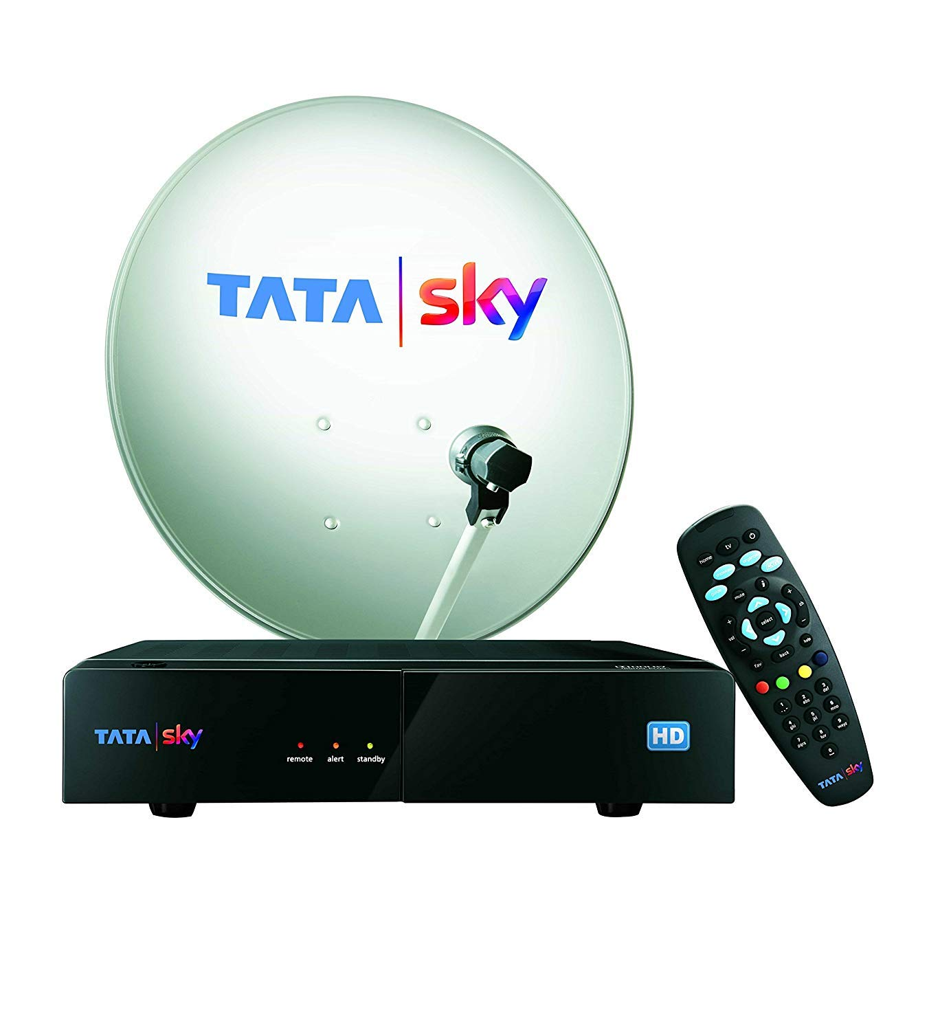 Tata Sky Hd Connection With 1 Month Basic Package And Amazon In Electronics