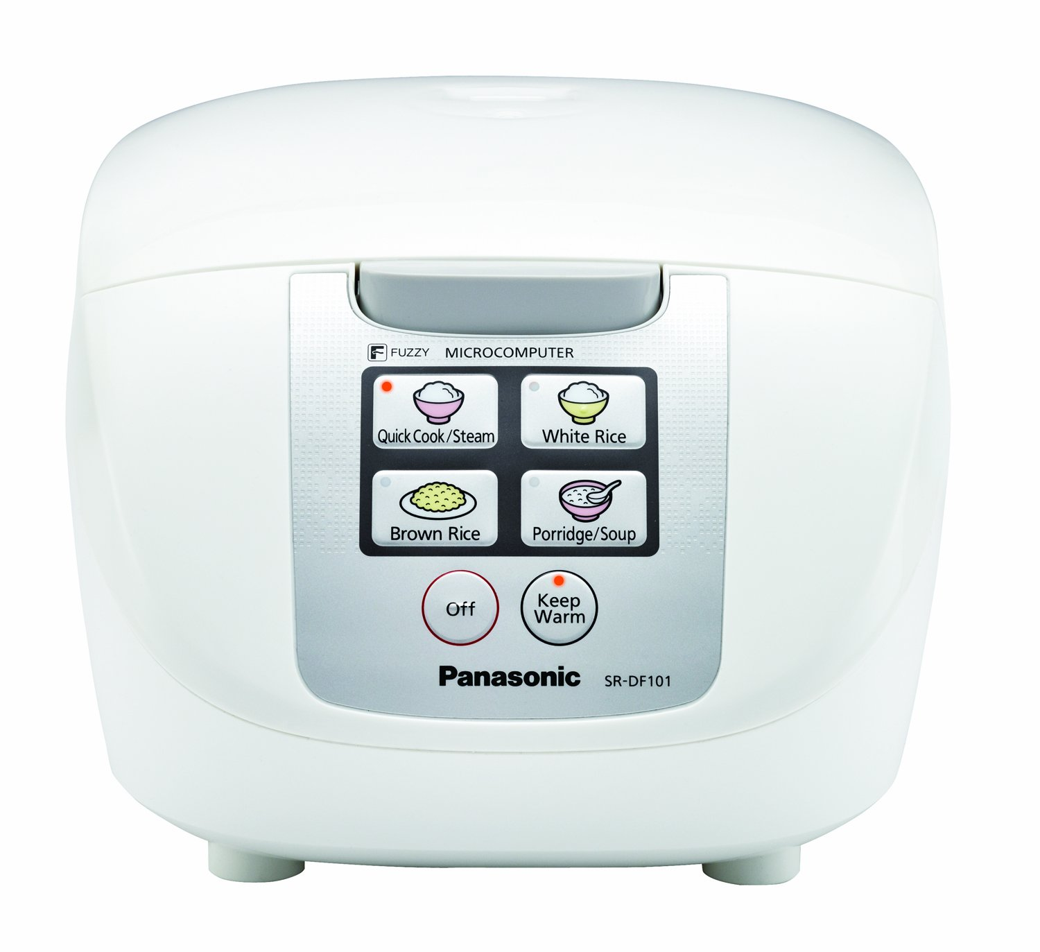 "Panasonic SR-DF181 10-Cup (Uncooked) One-Touch ""Fuzzy Logic"" Rice Cooker"