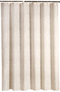 Welwo Water Repellent/Waterproof Fabric Shower Curtain/Liner Set   Mildew  Free/