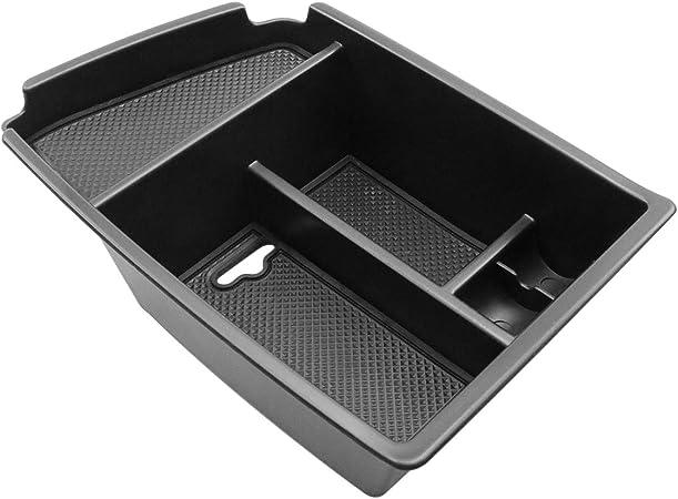 CDEFG para Niro Caja de almacenamiento, Consola Central Apoyabrazos Caja del coche Interior Center Armrest Storage Box, Con Tapete Antideslizante Accesorios Interiores del coche: Amazon.es: Coche y moto