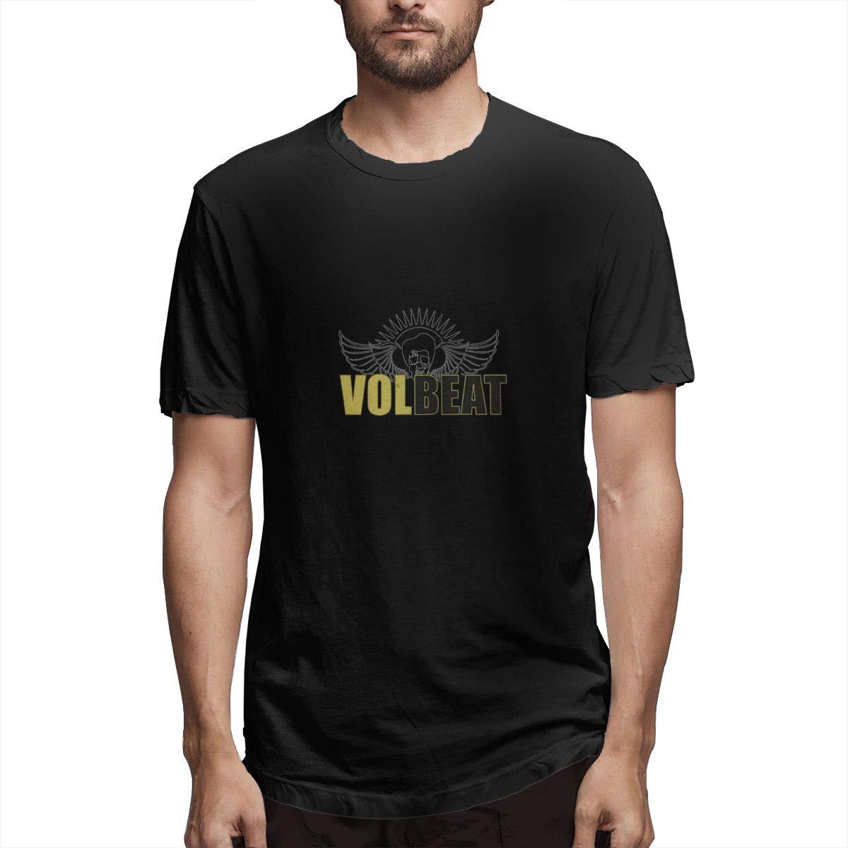 Lihehen S Volbeat Logo Round Neck T Shirt