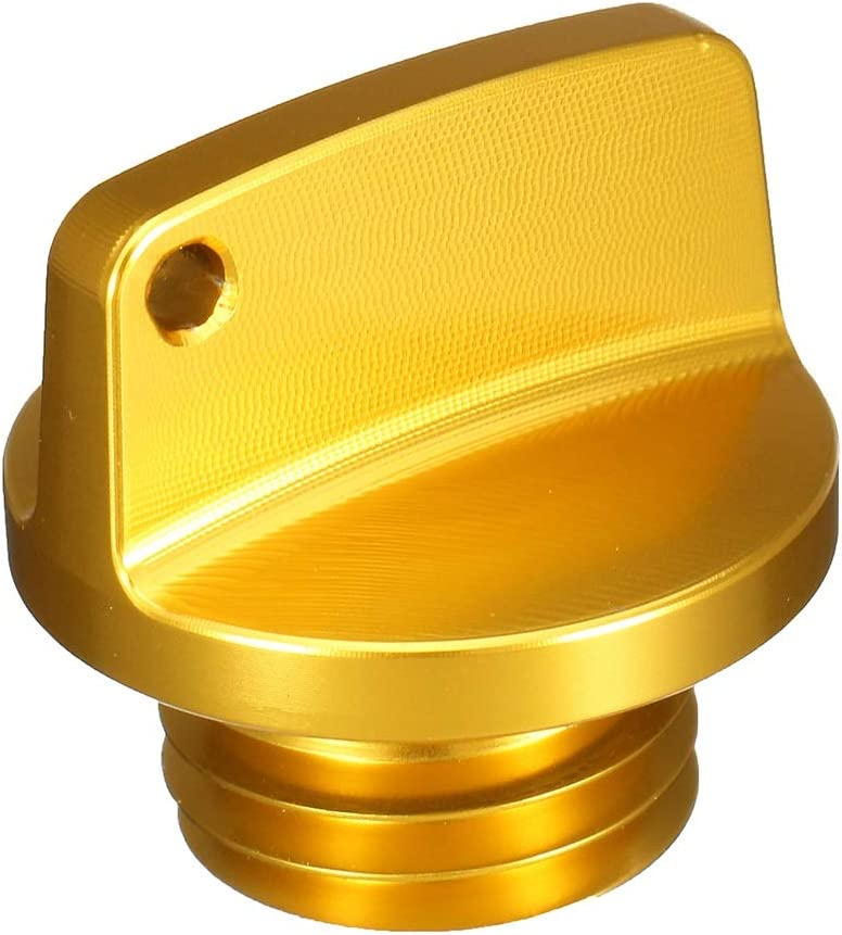 Color : Gold Universal Motorcycle CNC Engine Oil Filler Cap Screw Cover Plug For Triumph HANLING
