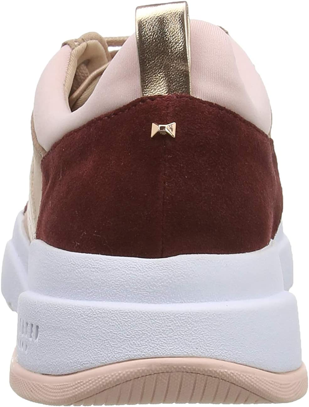 Ted Baker Waverdi, Baskets Femme Rose Soft Mink Soft Mink