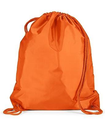 Amazon.com: Liberty Bags Large Nylon Drawstring Backpack: Gym ...