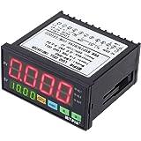 KKmoon 計量コントローラー デジタル計量器センサー ロードセルインジケータ 1-4ロードセル信号入力 2リレー出力 4桁LEDディスプレイ
