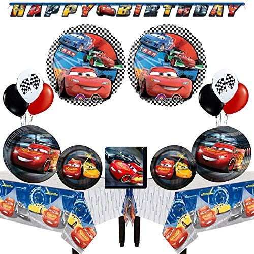Disney Cars Party Supplies and Balloon Decoration ()