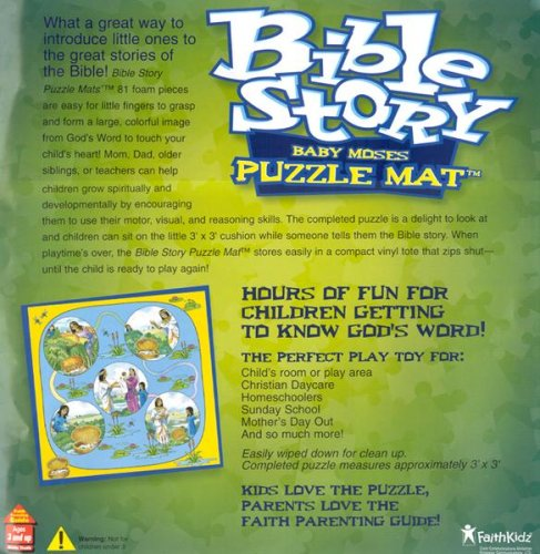 Baby Moses Puzzle Mat by Faith Kidz