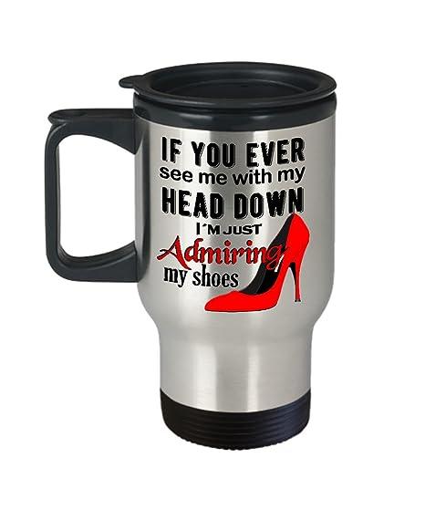 Amazon.com: Boss Lady Travel Mug, Lady Boss Gifts, Shoe Girl Boss ...